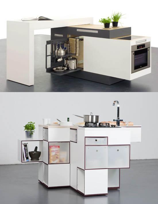 Beautiful Unique Interior Small Kitchen
