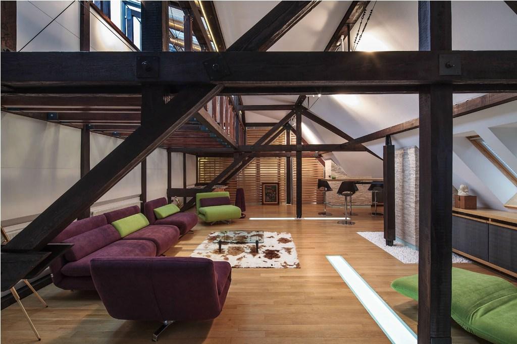 cool attic apartment decorating ideas | Cool Loft Apartment Decorating Ideas