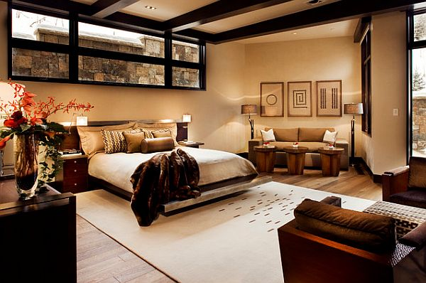Double-master-bedroom-in-Aspen-home