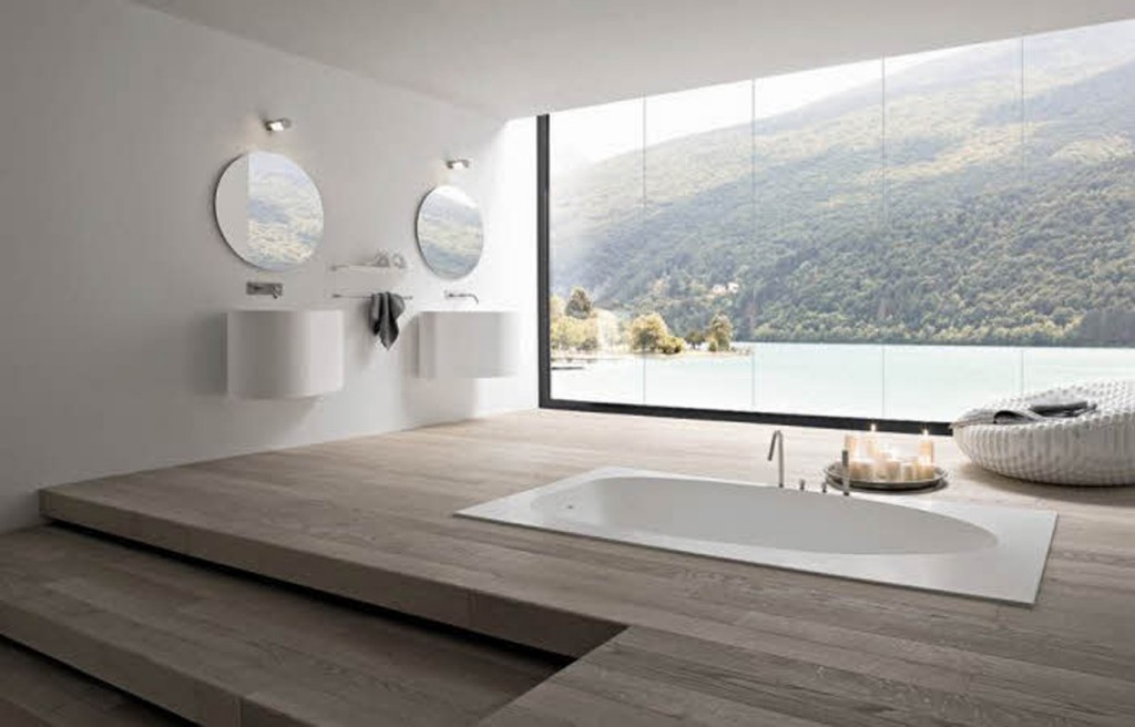 Modern-Bathroom-Design-With-Glass-Roof