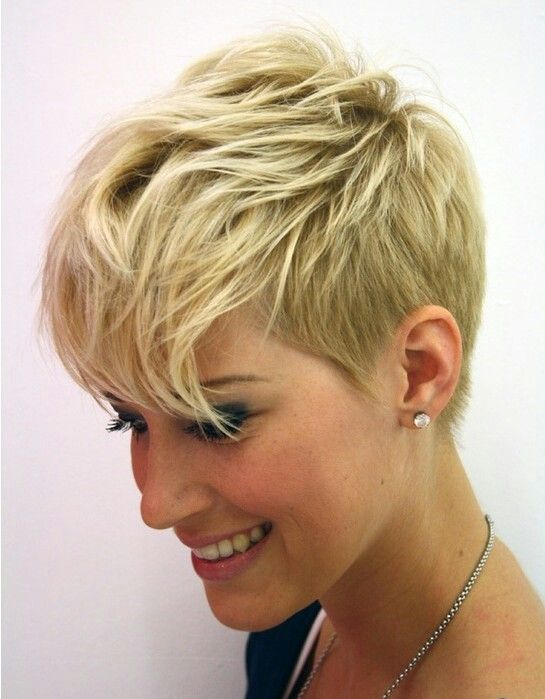 Stylish-Messy-Short-Haircut-for-Women-2015