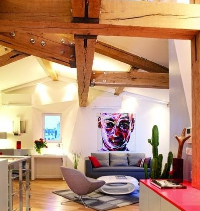 Loft Apartment Living Room Ideas: Cool Loft Apartment Decorating Ideas