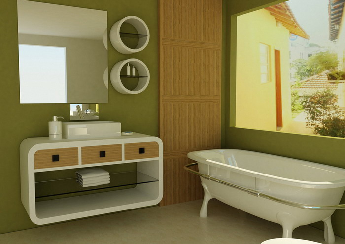 2015-cozy-green-bathroom-accessories-ideas-reviews