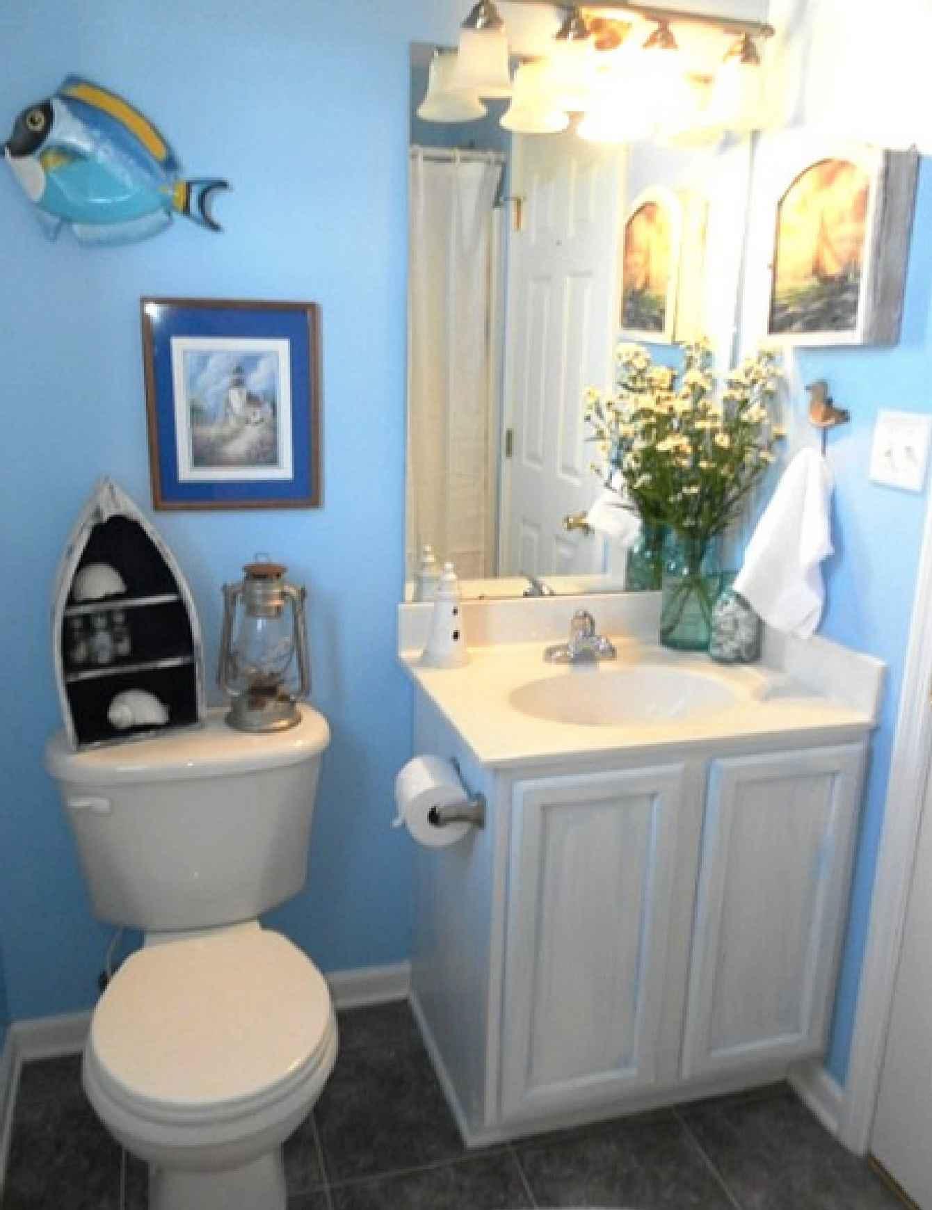 25 Awesome Beach Style Bathroom Design Ideas Wow Decor