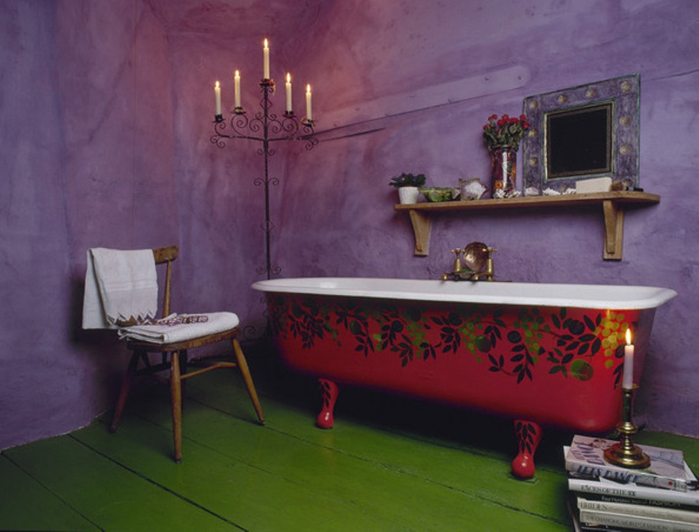 Bohemian-Eclectic-Bathroom