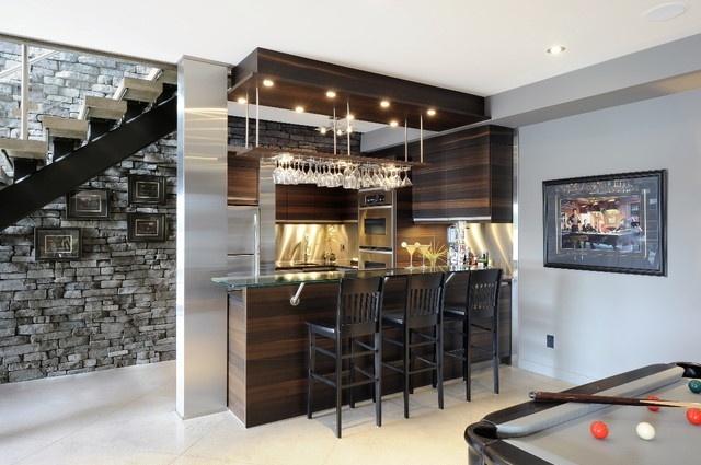 Contemporary-basement-bar-designs