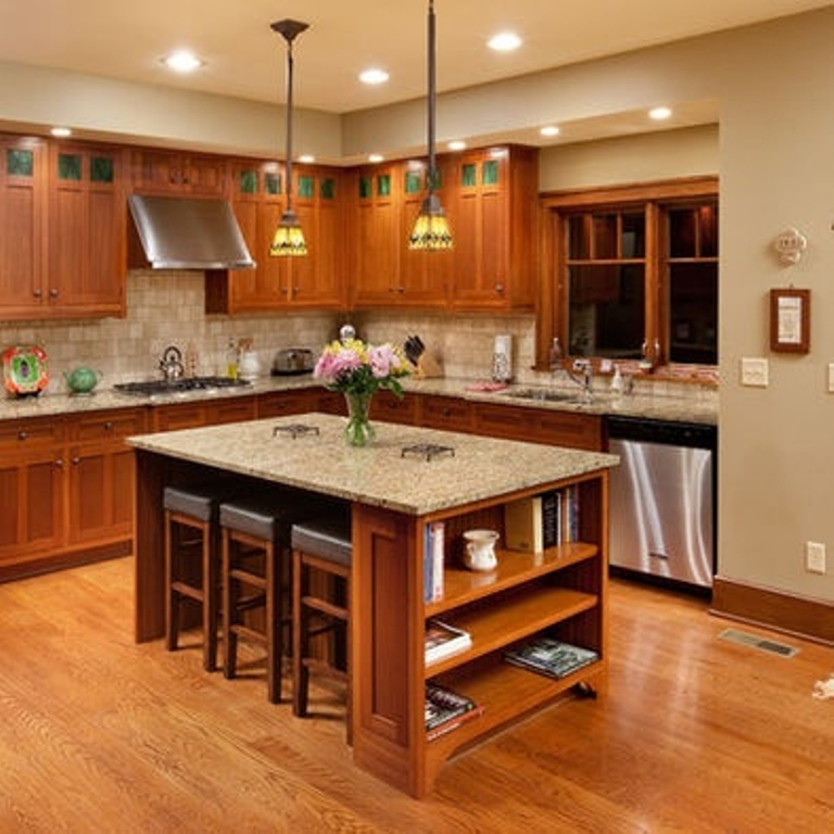Craftsman-Style-Kitchen-Pictures