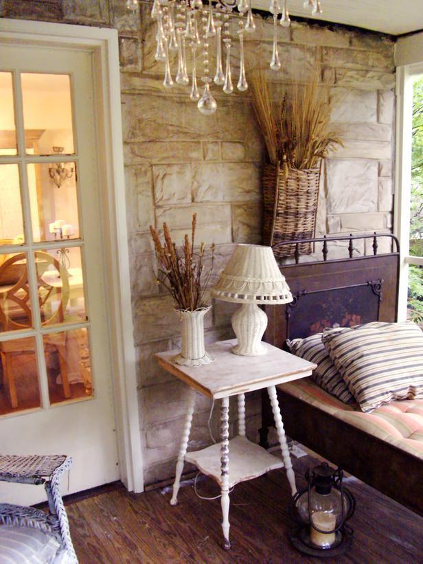 DIY  shabby chic bedroom  -1