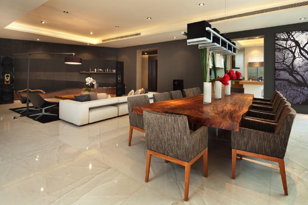 Open Plan Kitchen Design Idea