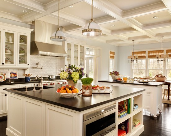Transitional Kitchen with Remarkable Detail