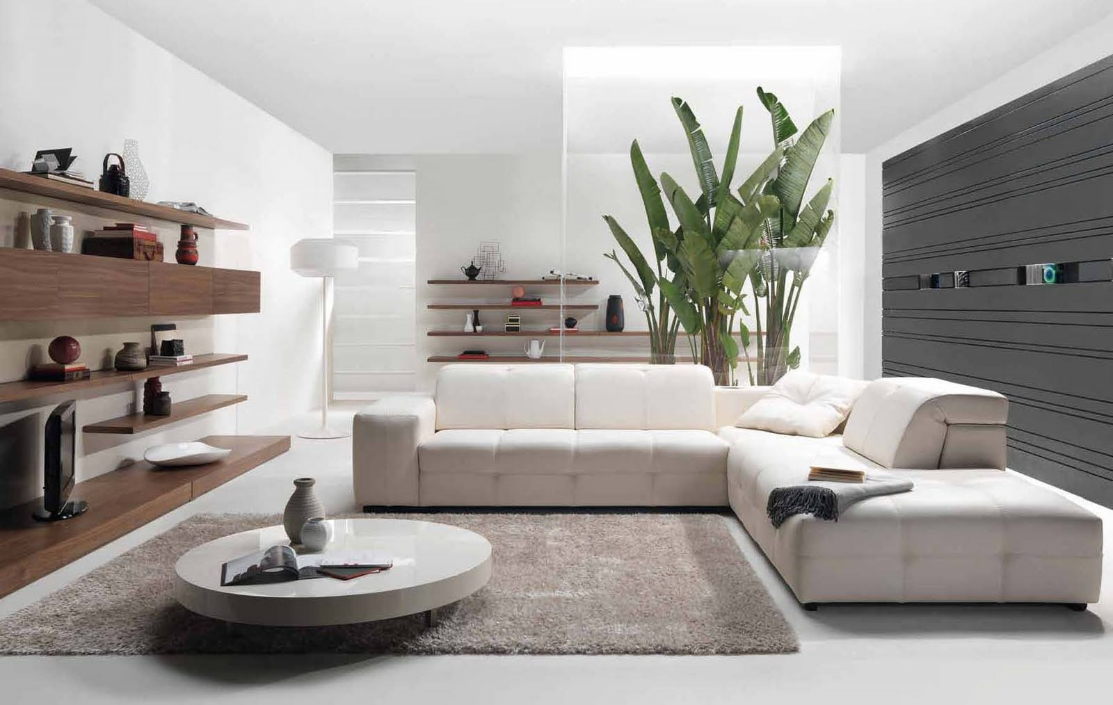 White-Living-Room-Interior-Style-Modern-Kits-Furniture