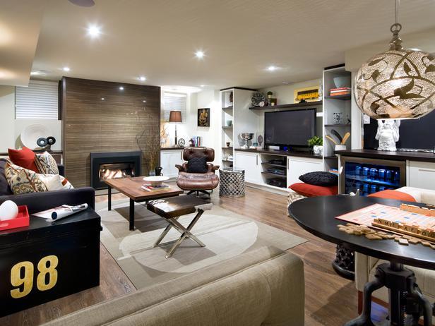 basement space