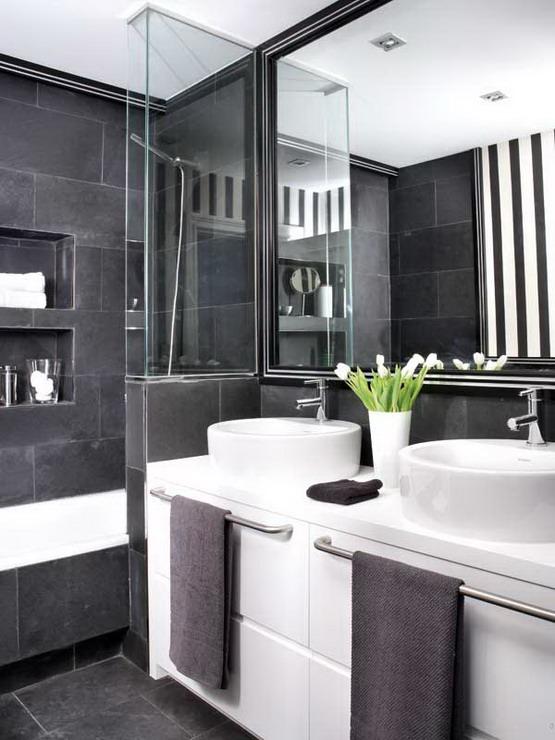 21 Cool Black And White Bathroom Design Ideas Wow Decor