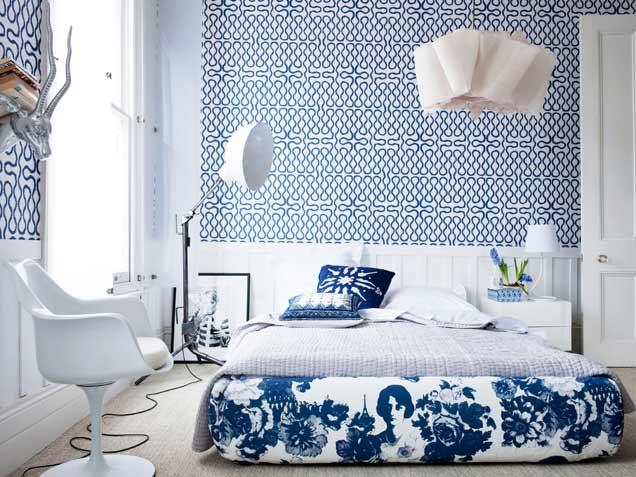 blue-eclectic-bedroom-design-ideas