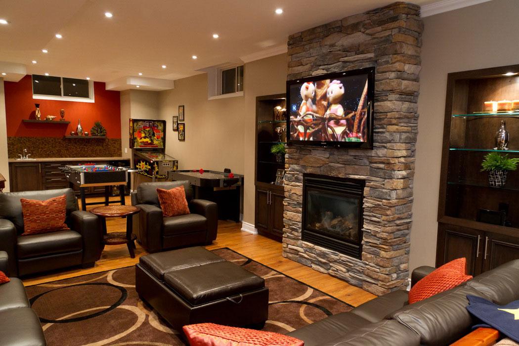 charming-chic-basement-family-room-design-ideas
