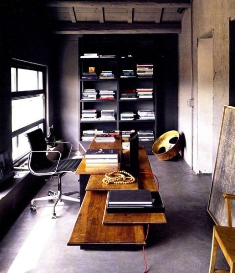 dark-home-office-decor-ideas