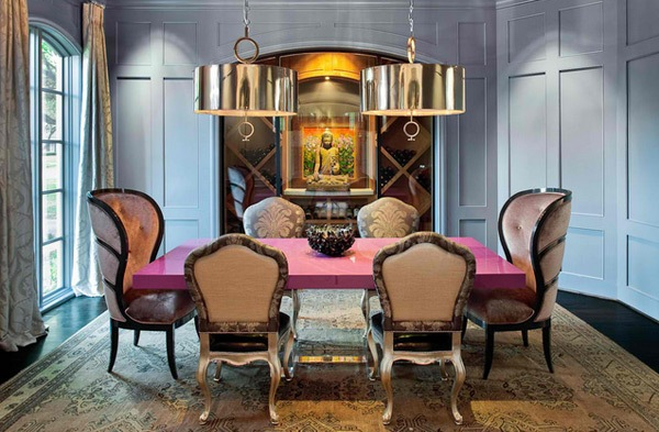eclectic-dining-room-designs