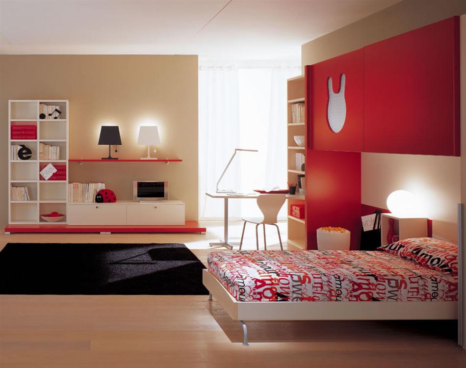 Kids Modern Bedroom Inspiration Furniture