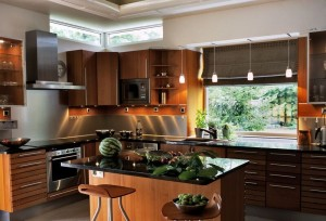 20 Cool Modern Wooden Kitchen Designs