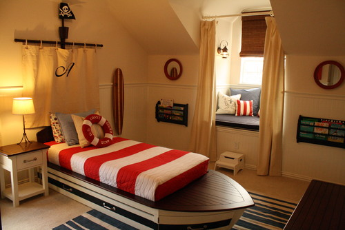 traditional-style-kids-nautical-bedding-bedroom