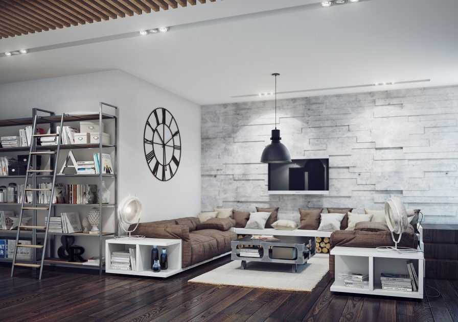 19-Industrial-style-living-room