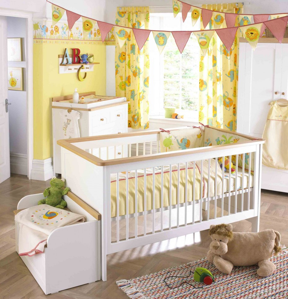 25 Cute And Comfy Scandinavian Nursery Ideas: 25 Cute And Attractive Baby Nursery Design Ideas