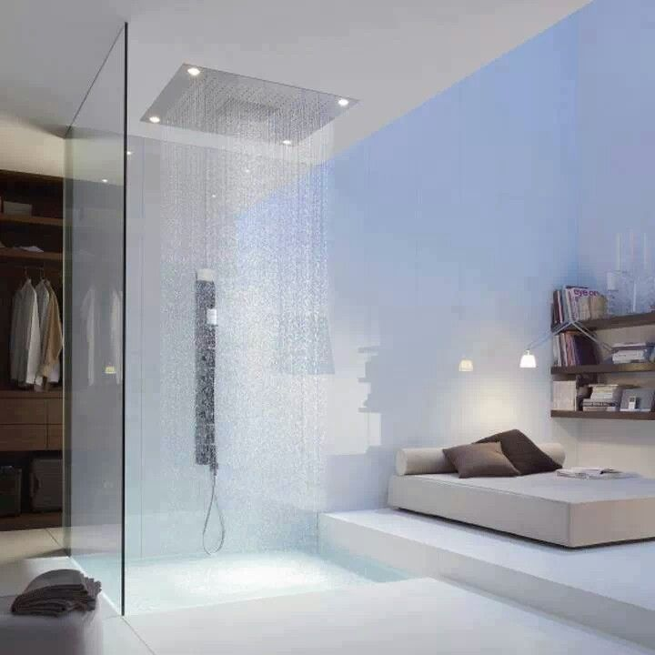 15 Beautiful Bathrooms With Rain Shower Wow Decor