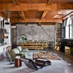 20 Stunning Industrial Basement Design