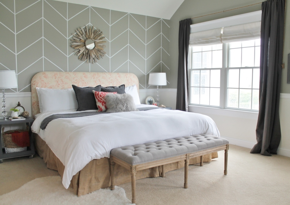 City Farmhouse Master Bedroom Reveal