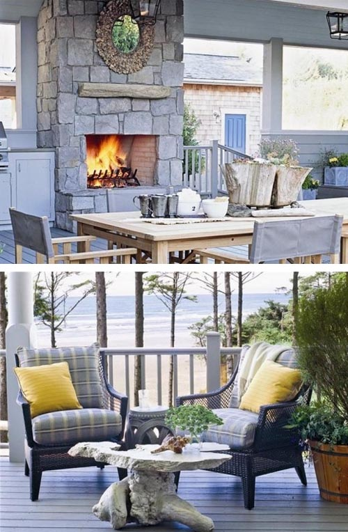Classic-Style-Exterior-Beach-House-Exterior-Design