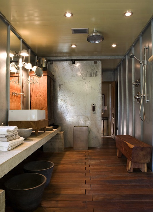 Industrial Bathroom Design Modern