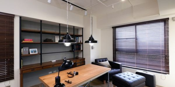 Industrial-Home-Office-Designs-with-Lighting-Features-600x300