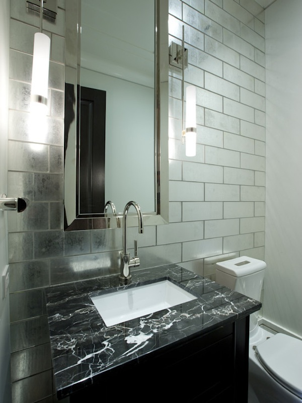 Industrial Style Bathroom Design