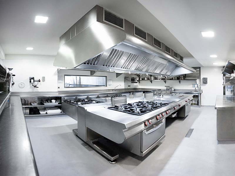 Industrial kitchen equipment