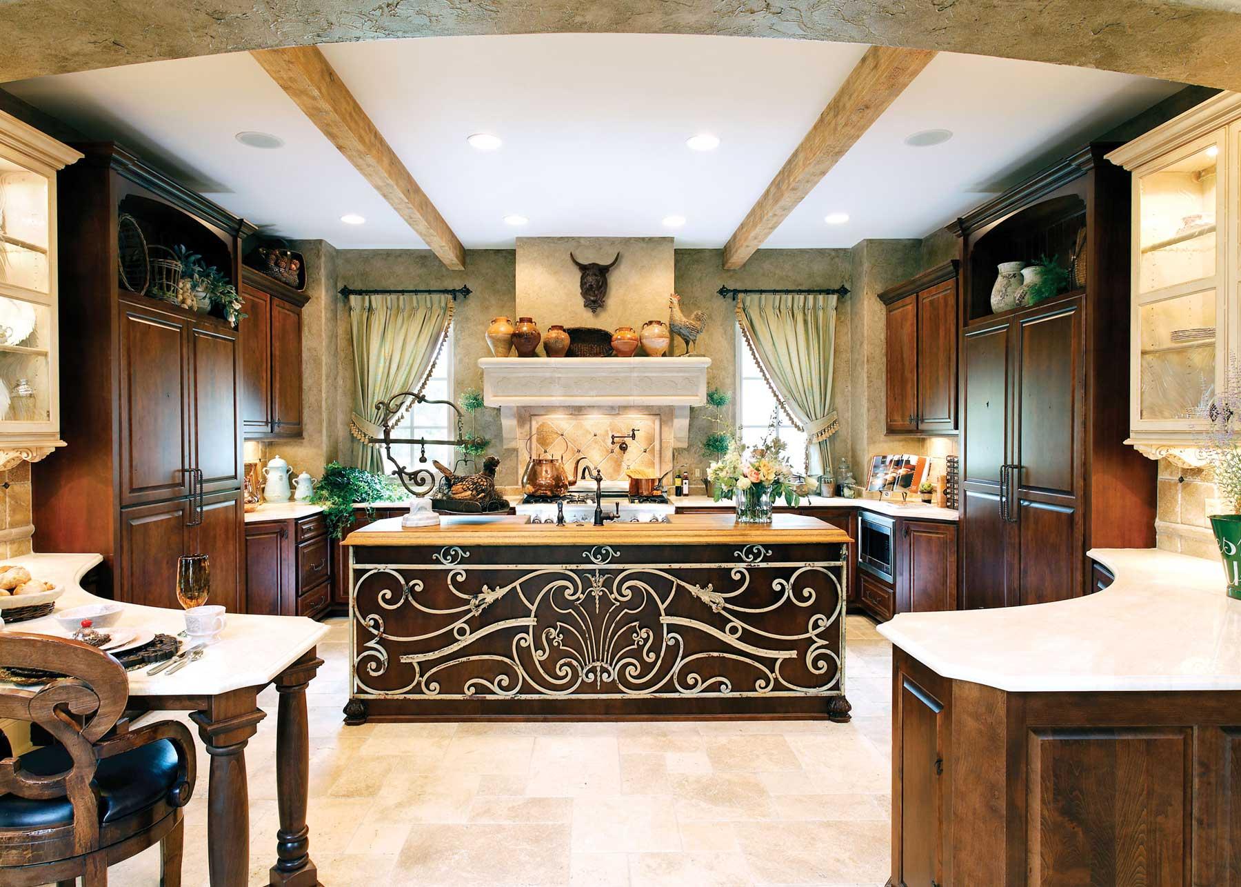 Image result for Mediterranean style kitchens
