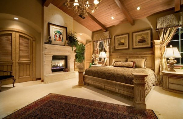 Magnificent-mediterranean-bedroom-design-