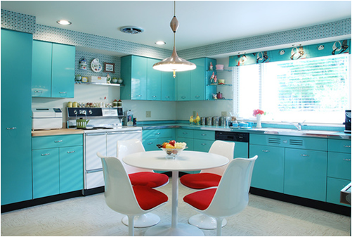 Mid-Century Modern Kitchens1