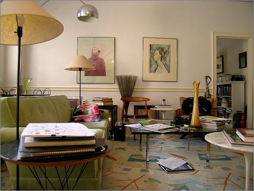 Mid-Century Modern living room1