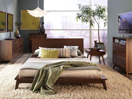 Mid century Bedroom Design