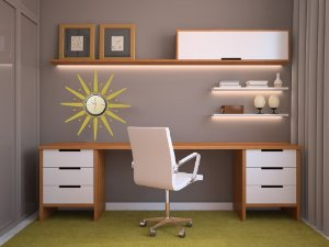 Midcentury Home Office Design ideas