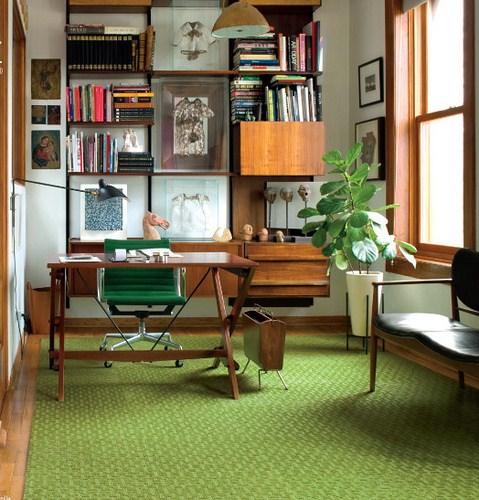 Midcentury modern Home Office Design ideas