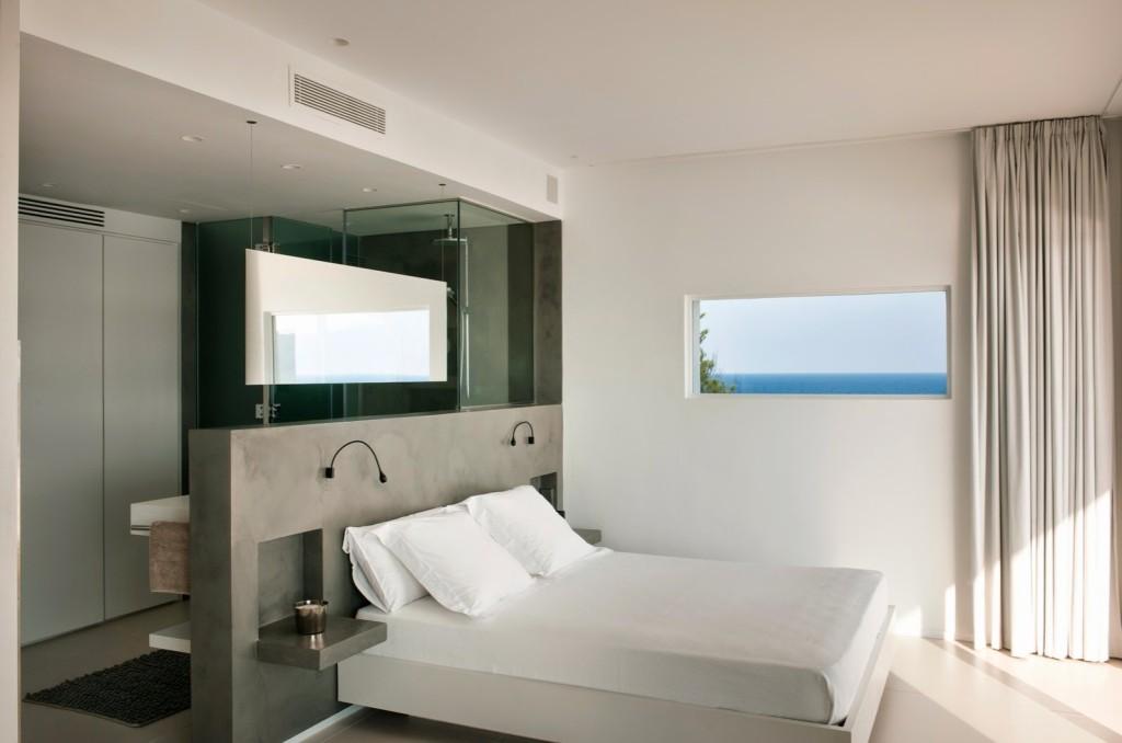 Open Bathroom_ Bedroom