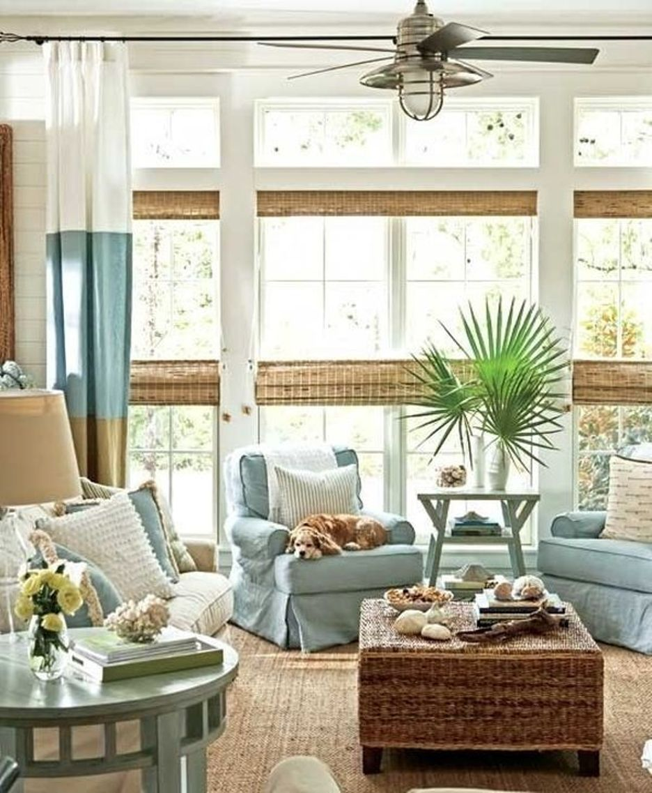 Prepossessing Beach Themed Living