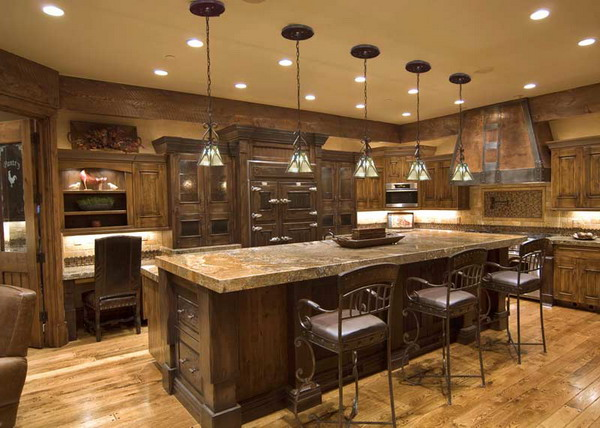Rustic-Kitchen-Lighting-Ideas