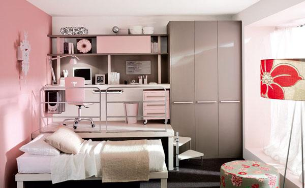 The-Pink-Chair-Of-Stylish-Teenage-Girls-Bedroom-Ideas