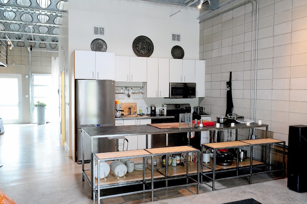 White-industrial-kitchen