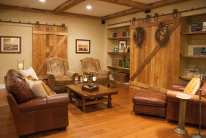 15 Incredible Farmhouse Basement Design ideas