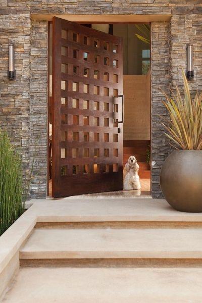 beach entry door ideas