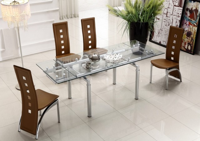 beautiful-extendable-dining-table-made-of-glass-photos