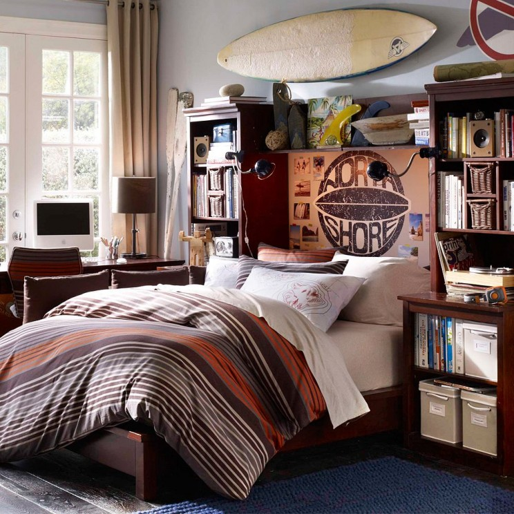 bedroom-bedroom-cool-boys-rooms-design-ideas-classic-teens-bedroom-with-handsome-interior-in-vintage-feels-room-kids-wall-decor-awesome-colorful-decorating-teenage-bedroom-ideas-744x744